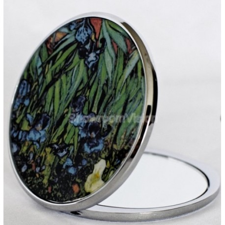 Mirror with the printed Sunflowers by artist Van Gogh
