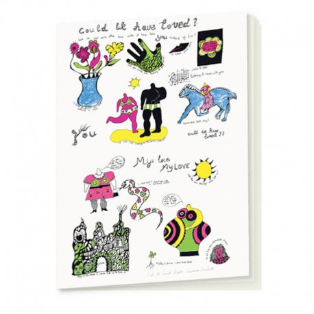 3 small notebooks Nanas by Niki de Saint Phalle