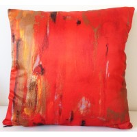 Original design coloured cushion Epure by Ica Saez (45x45 cm)