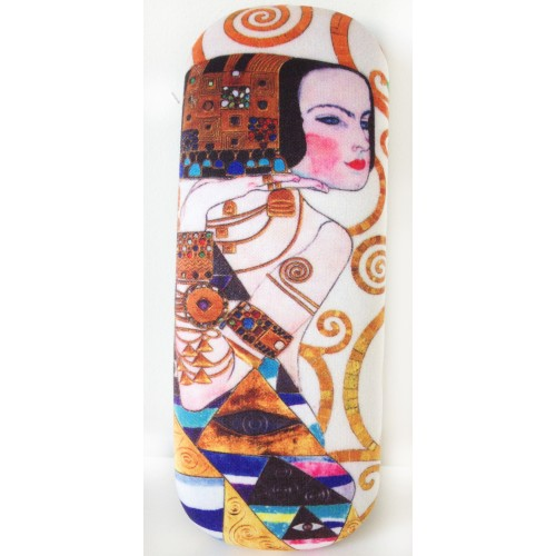 Beautiful glasses box with printing Expectation by famous artist Gustav Klimt