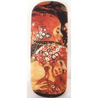 Glasses box with printed painting Water Serpents II by famous artist Klimt