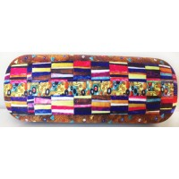 Glasses box with printed painting with printing The Stoclet Frieze by famous artist Klimt