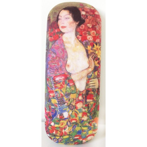 Glasses box with printed painting The Dancer by famous artist Klimt