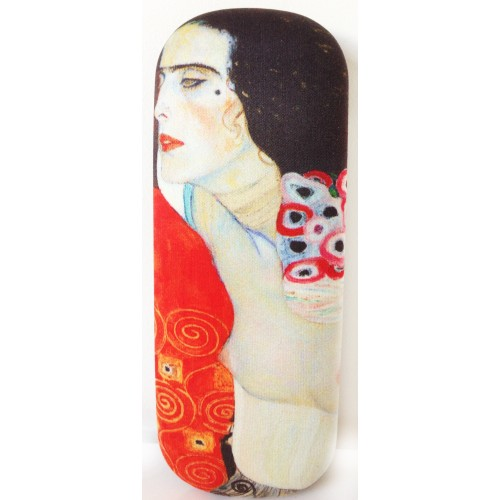 Glasses box with printed painting Judith II by famous artist Klimt