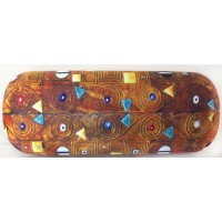 Glasses box with printed painting The Stoclet Frieze by famous artist Klimt