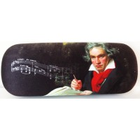 Glasses box with printed painting of famous classic artist