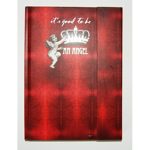 Carnet de luxe aimanté It's good to be an angel