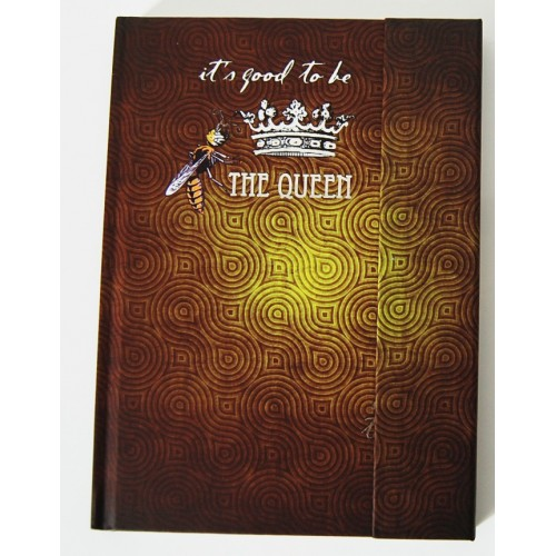 Carnet de luxe aimanté It's good to be the Queen