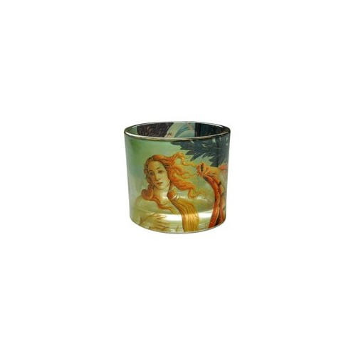 Tealight candle holder La Nascita di Venere by Sandro Botticelli