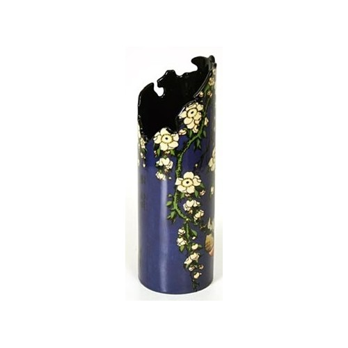 Original vase from Bullfinch and Blossoms by Hokusai