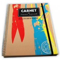 Spiral notebook by Alicia and Rafael Alonzo