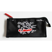 Trousse fourre-tout plat Keith Haring Skate