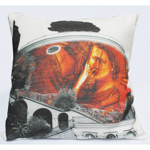 Original natural spiritual art cotton cushion