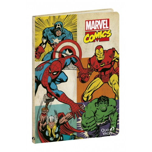 Notebook marvel characters