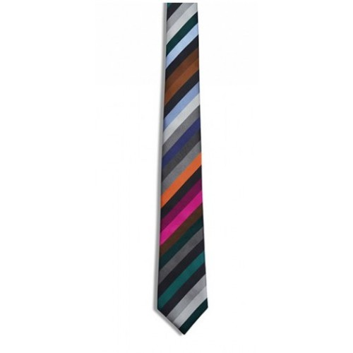 Tie Stripes Grey pattern