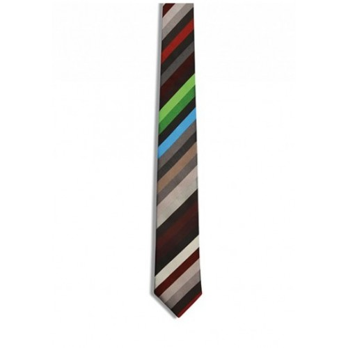 Tie Stripes Brown pattern