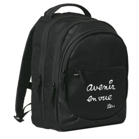 Backpack by french artist BEN