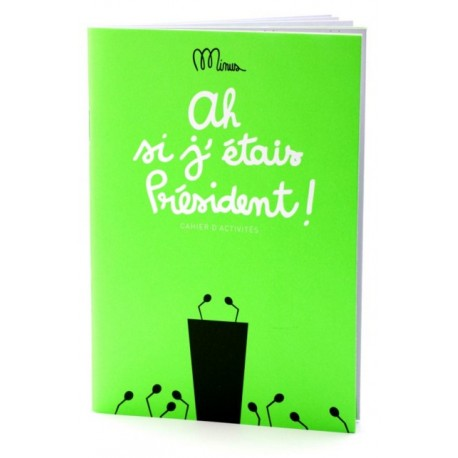 Activity book If I were Prime Minister by Minus
