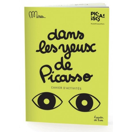 Activity book In the eyes of Picasso by Minus