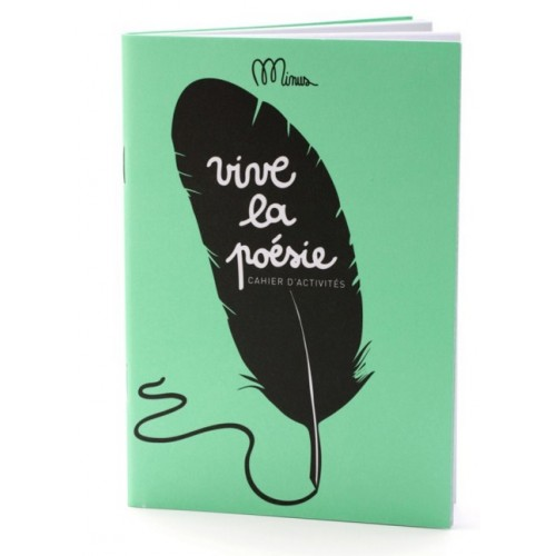 Activity book Love poetry by Minus